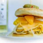 Fotografia produktowa jedzenie burger