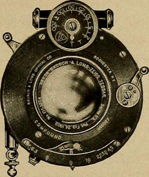 stary tessar obiekty bokeh photos