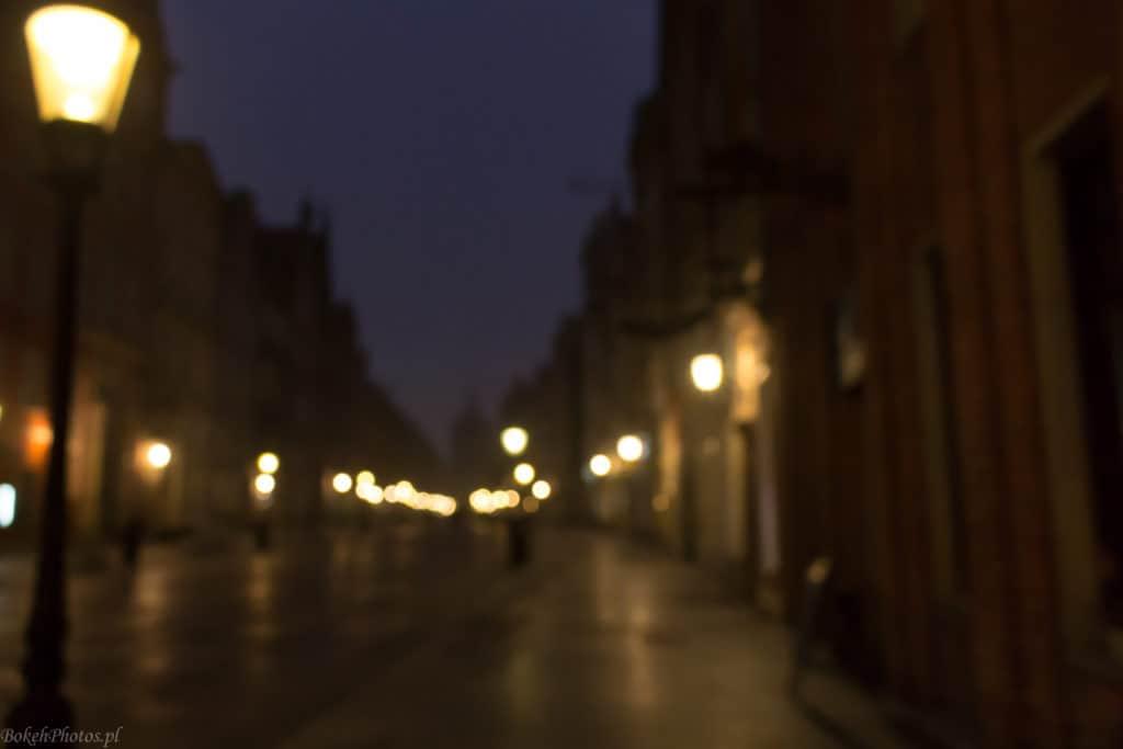 bokeh efekt photos gdańsk starówka długi targ