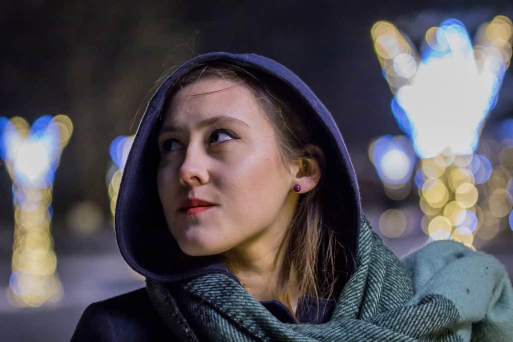 nocny night portret portrait ela