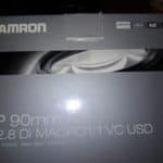 Tamron 90mm F/2.8 SP Di MACRO 1:1 USD opakowanie