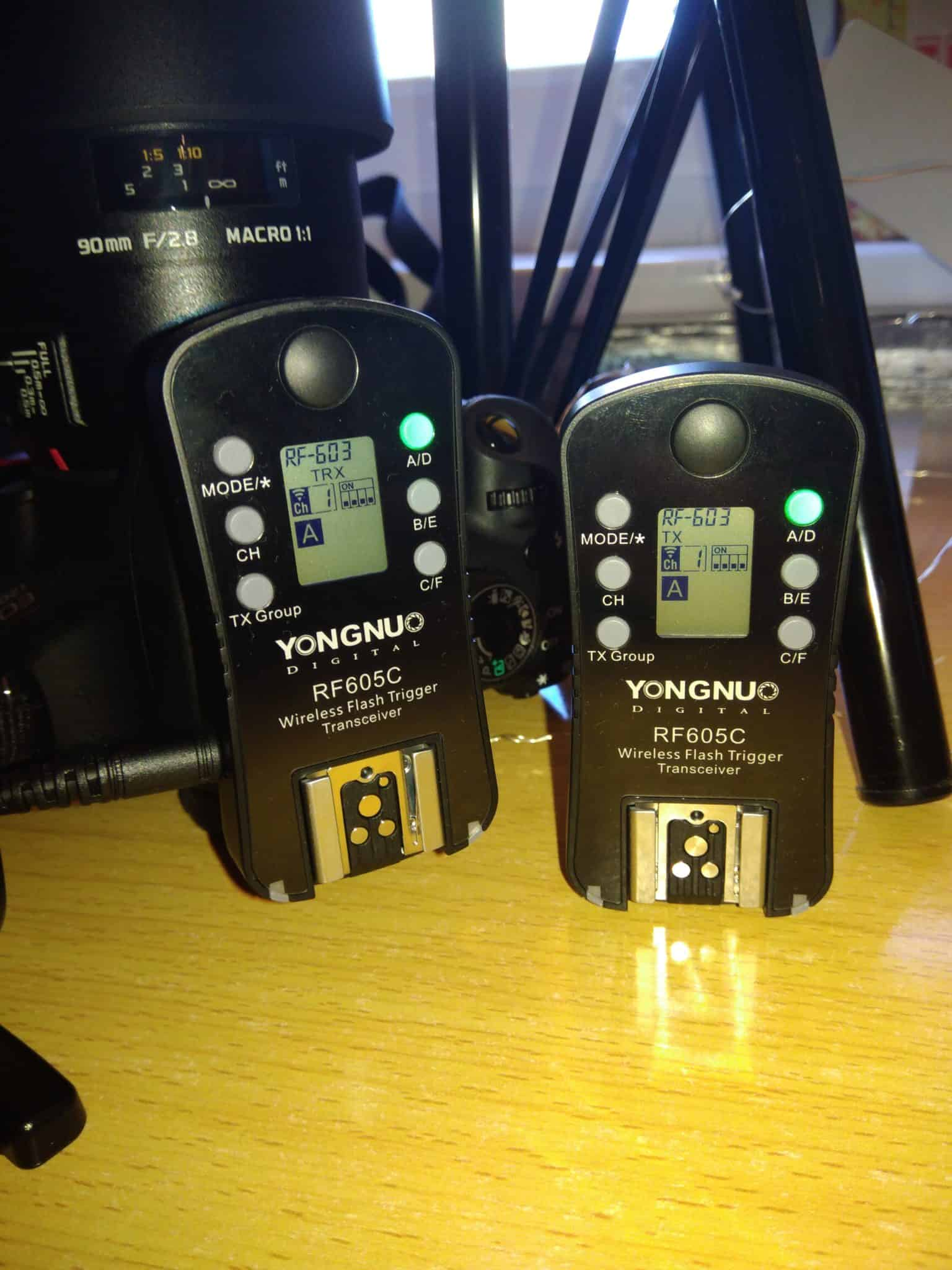 radiowy wyzwalacz migawki yongnuo RF-605C