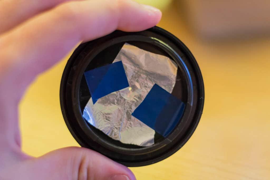 obiektyw otworkowy camera obscura domowa fotografia otworkowa