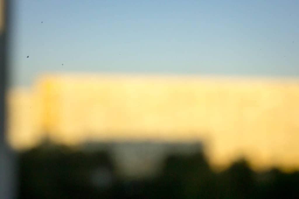 Przykład zdjęcia domowym aparatem otworkowym z lustrzanki