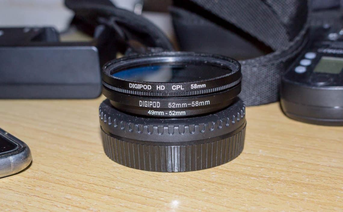 polaryzator kołowy fotograficzny filtr polaryzacja