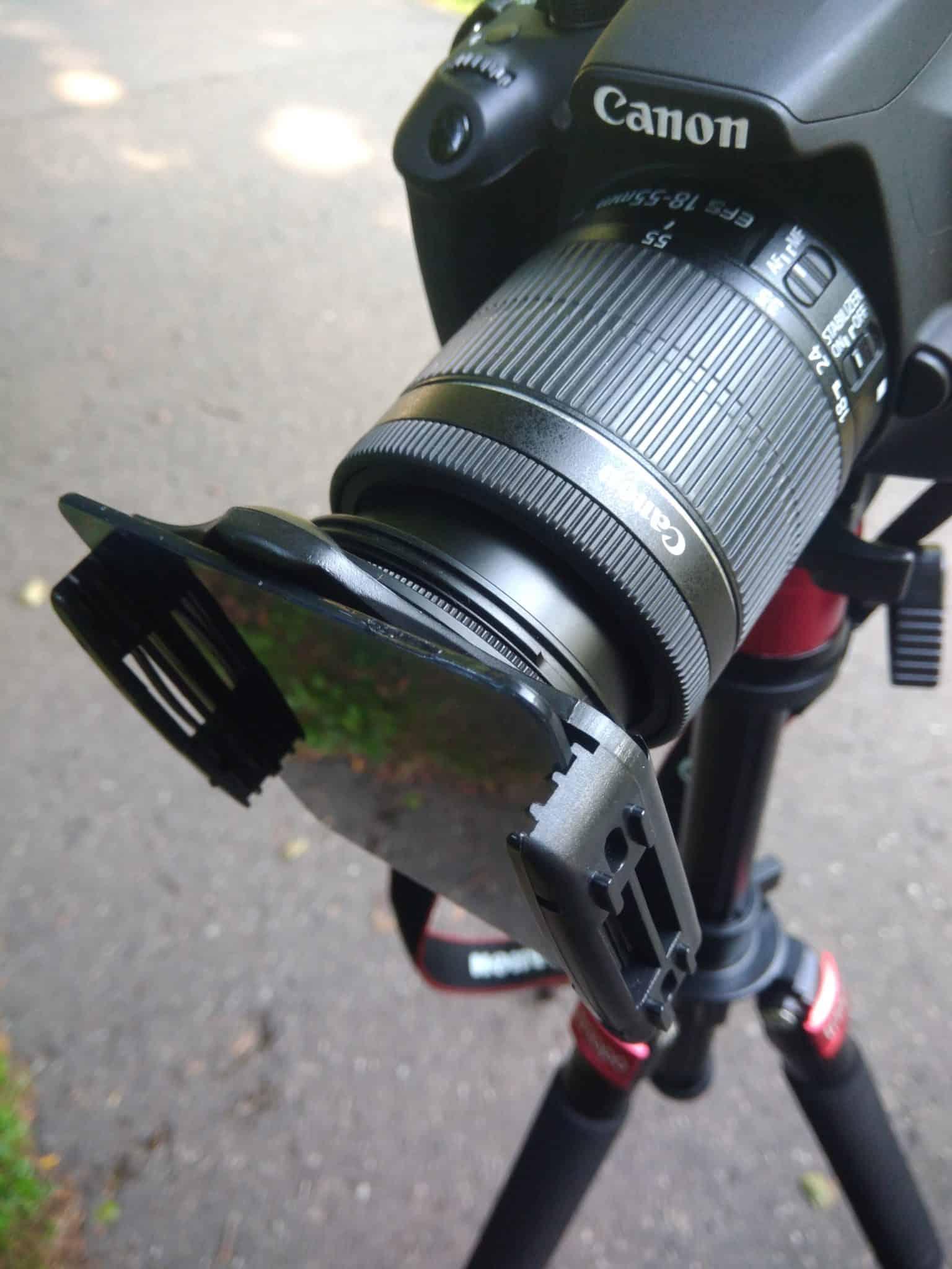 długi czas naświetlania filtr nd 8