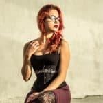 Podstawy fotografii cyfrowej modelka Anna Wójcik Gotyk-1-2