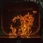 czas naświetlania - płomienie