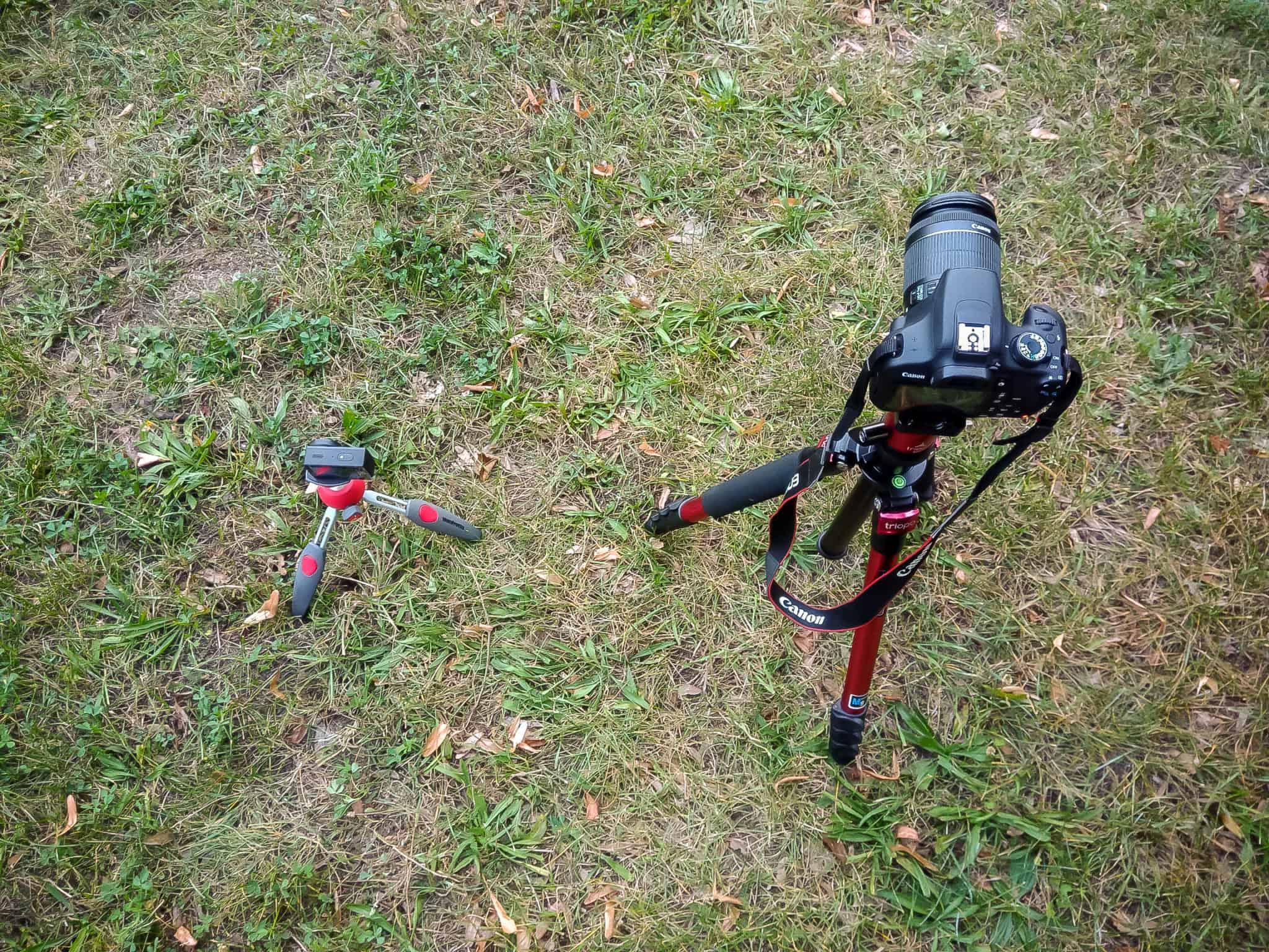 jak zrobic timelapse statyw kamera