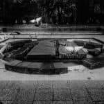 Wyzwanie fotograficzne 7 dni dzień czwarty fotografia uliczna fontanna i gołębie
