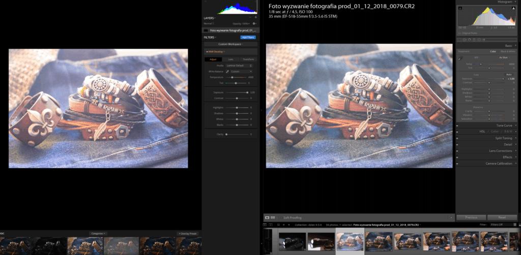 luminar vs lightroom przykład 5 stopni ev ekspozycji plik RAW Canon 1200D CR2 1024x502 - Luminar vs Lightroom - aktualizacja