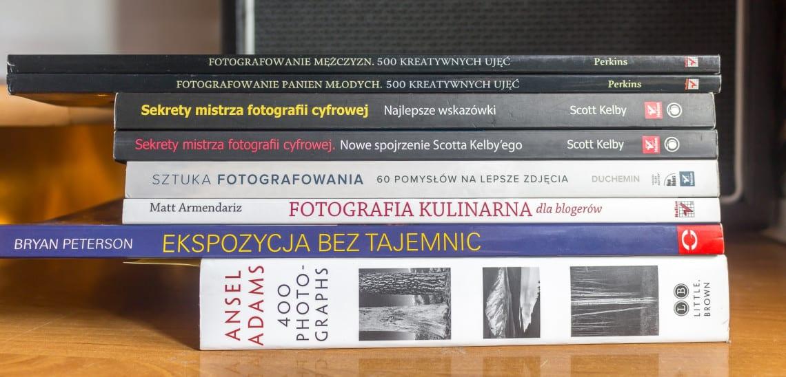 Książki o fotografowaniu - moje ulubione pozycje