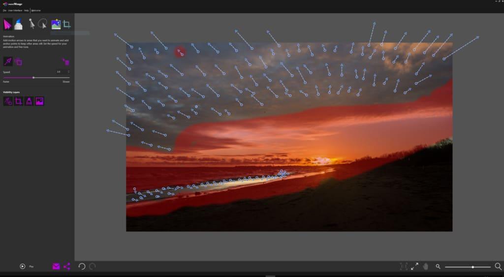 Photo mirage recenzja skończony projekt plaży 1024x563 - Animowane zdjęcie i jak je zrobić