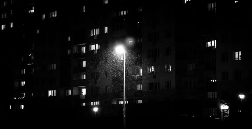 Linie w fotografii - fotografia uliczna