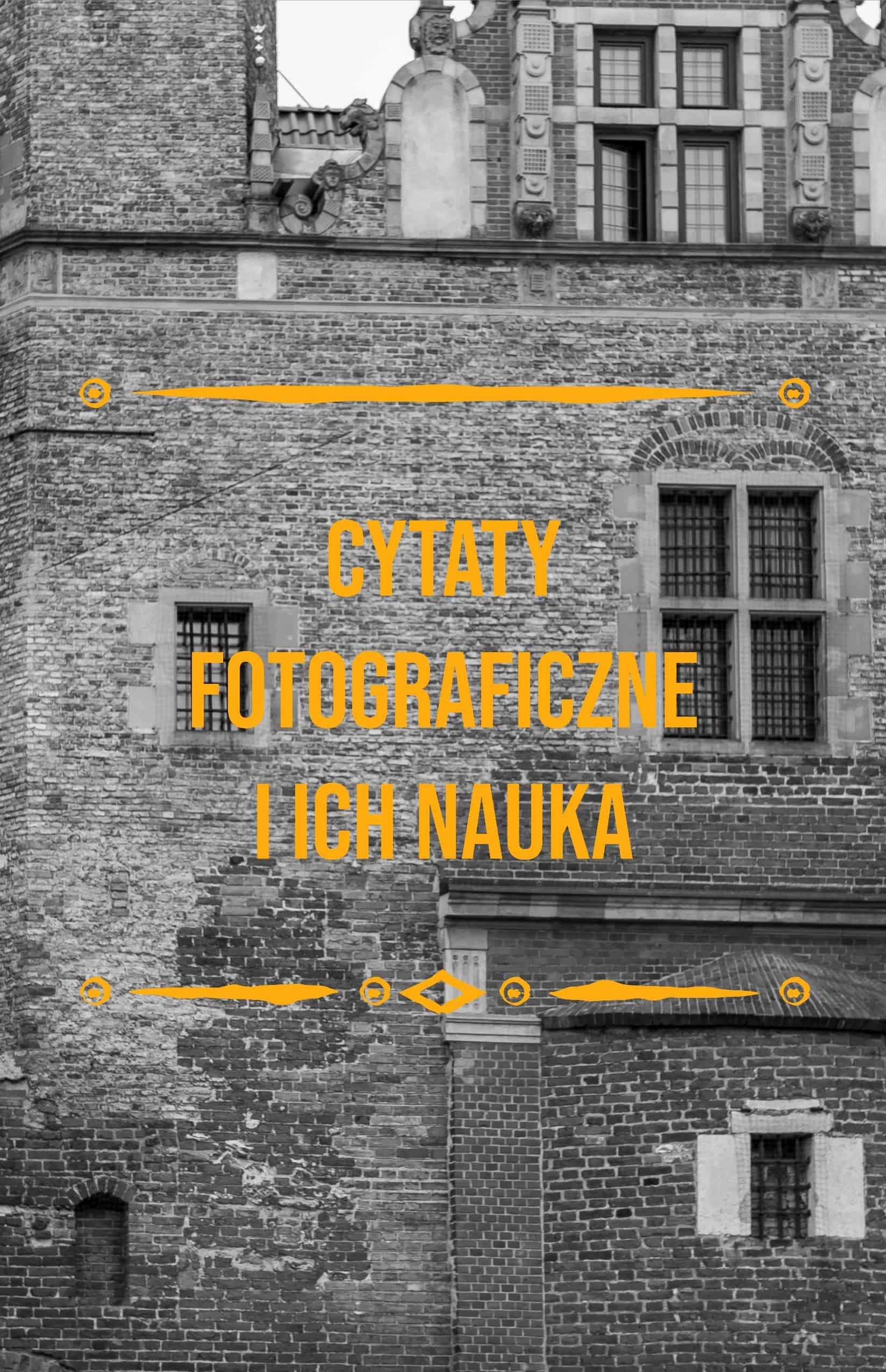 Cytaty fotograficzne i ich nauka