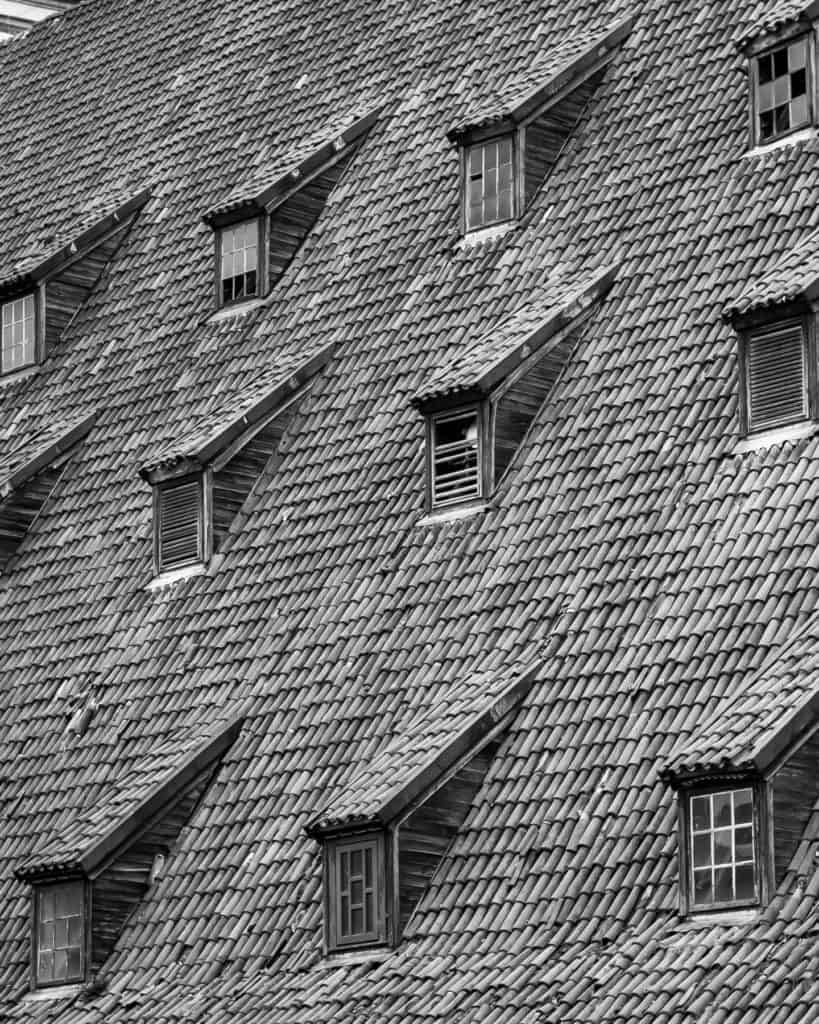 Linie w fotografii - powtórzone linie i wzory