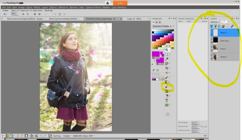 """Nakładanie zdjęć jak zrobić zdjęcie kompozytowe przykład widoku warstw 1024x593 - Nakładanie zdjęć i grafik. Warstwy """"overlay"""""""