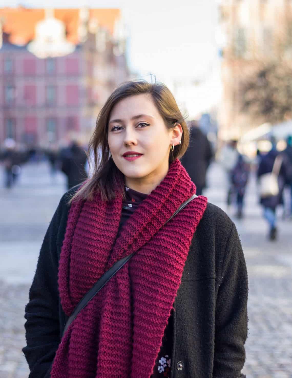 Zdjęcie portretowe w mieście - Długi Targ, Gdańsk
