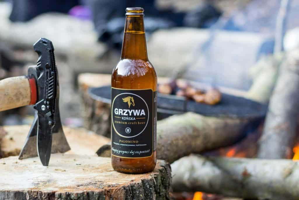 Końska Grzywa na grilla. 5 1024x683 - Fotografia produktowa butelki piwa
