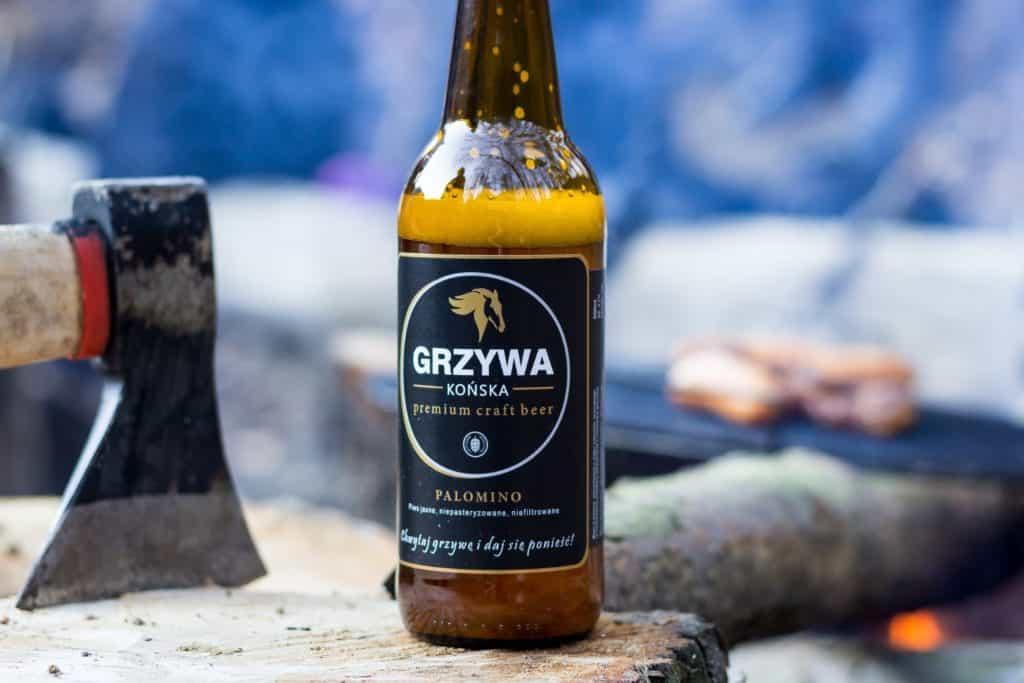 Końska Grzywa na grilla. 7 1024x683 - Fotografia produktowa butelki piwa