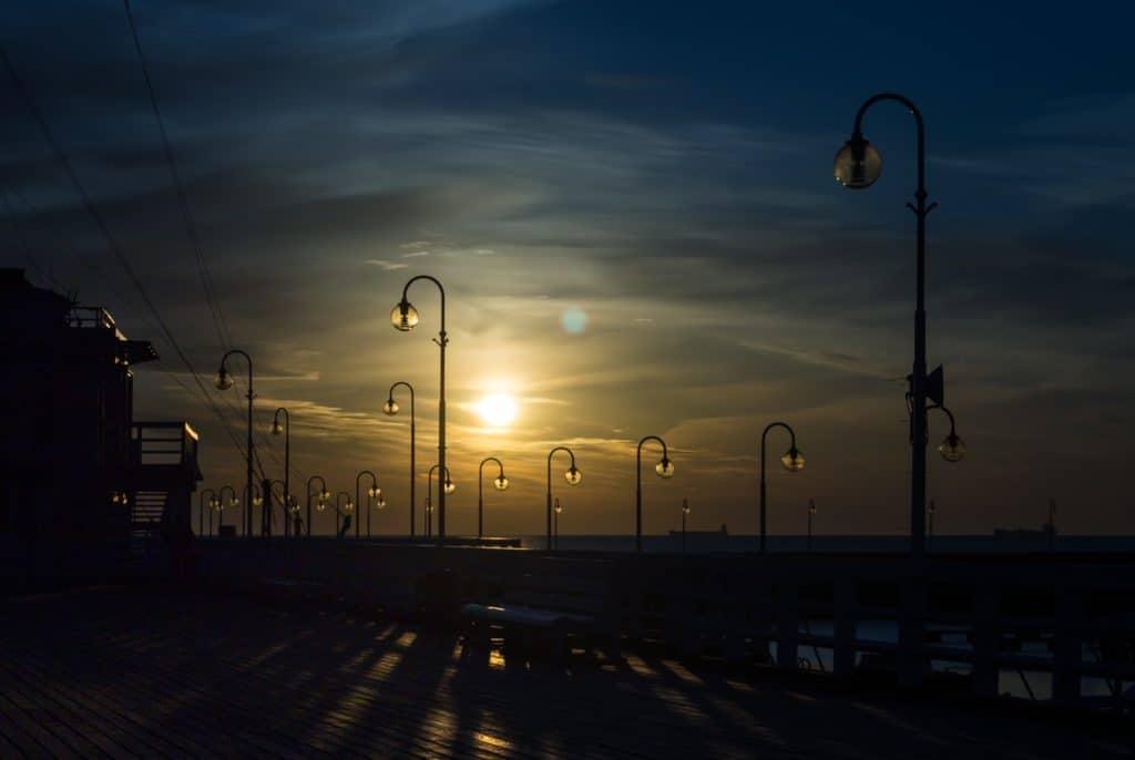 Długi czas naświetlania filtr Hoya ProND 1000 wschód słońca Sopot molo 9 1024x686 - Filtr Hoya Pro ND 1000 58mm