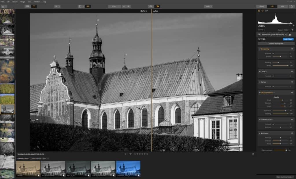 Jak wyostrzyć zdjęcie Details Enhancer przykład maskowania 100 1024x619 - Jak wyostrzyć zdjęcie - Luminar 3
