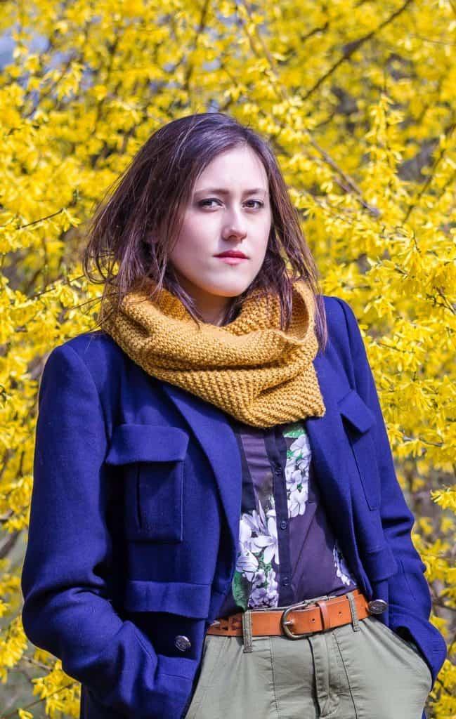 Wiosenny portret moda i kwiaty la Ell 12 649x1024 - Wiosenny portret z kwiatami