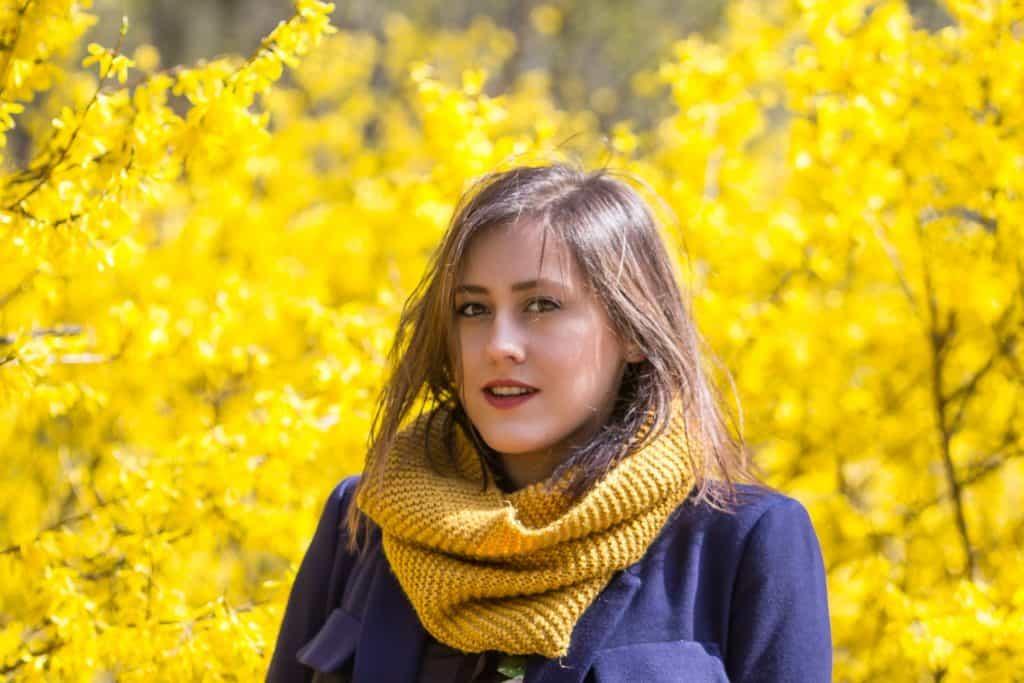 Wiosenny portret moda i kwiaty la Ell 14 1024x683 - Wiosenny portret z kwiatami