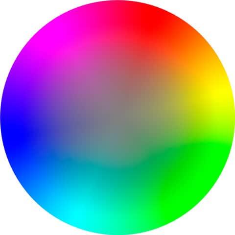 Kolorowanie zdjęć przykład koła barw - Kolorowanie zdjęć czyli koloryzacja fotografii