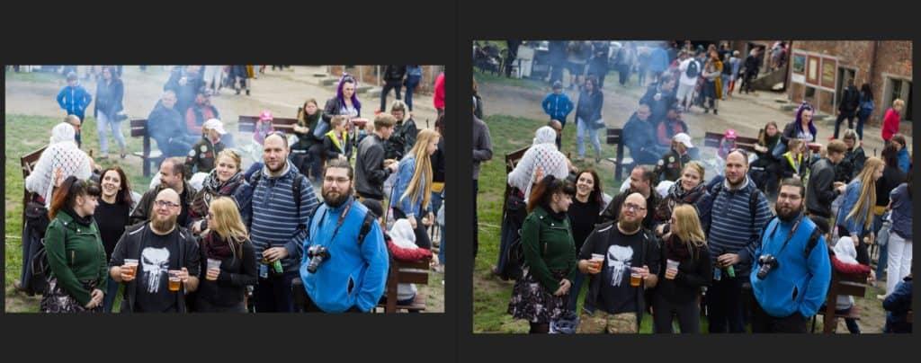 Obróbk zdjęcia vs luminar AI 2- przykład 1