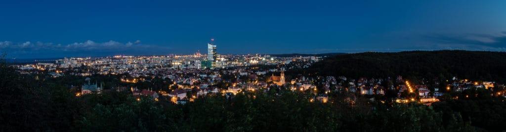 Fotografia miejska czyli fotografie Gdańska panorama oliwy i przymorza