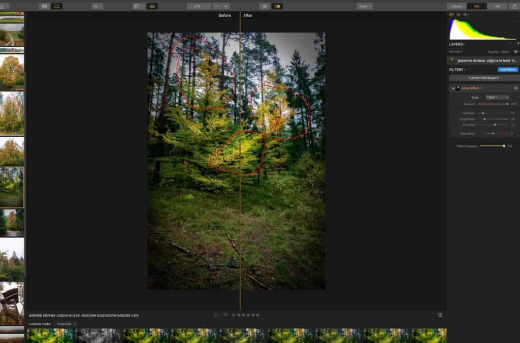Efekt Ortona działa podobnie do standardowej miejscowej manipulacji ekspozycją 1024x675 - Efekt Ortona w fotografii