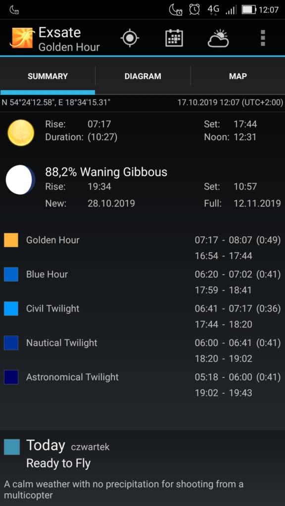 Exsate golden hour aplikavja czas fotografowania 576x1024 - Złota godzina w fotografii