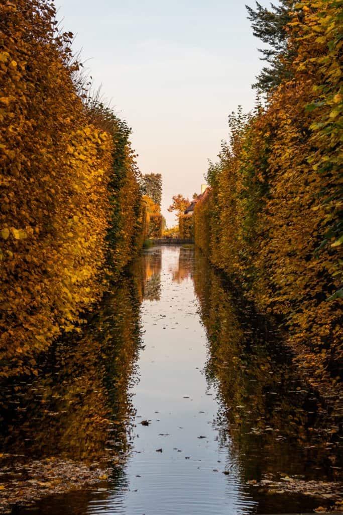 Fotografia lustrzana i odbicia jesień w parku oliwskim w Gdańsku 7 683x1024 - Krajobraz jesienny - Gdańska jesień