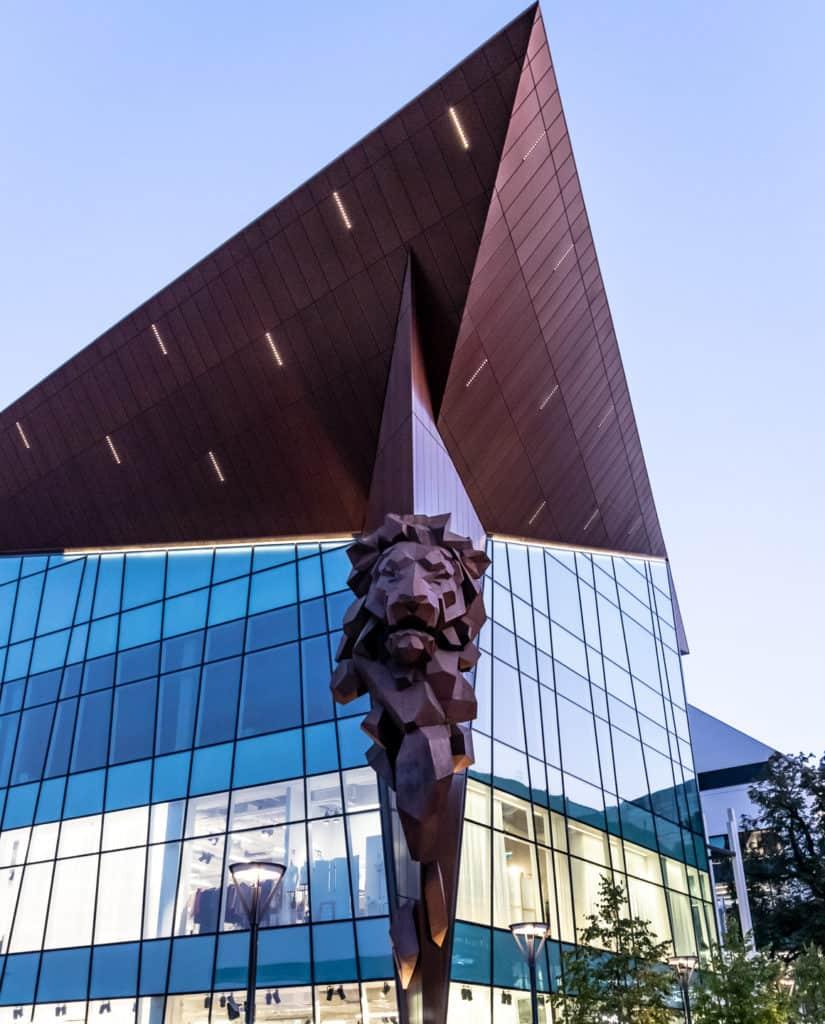 Gdańsk_w_kadrze gdański lew w centrum forum