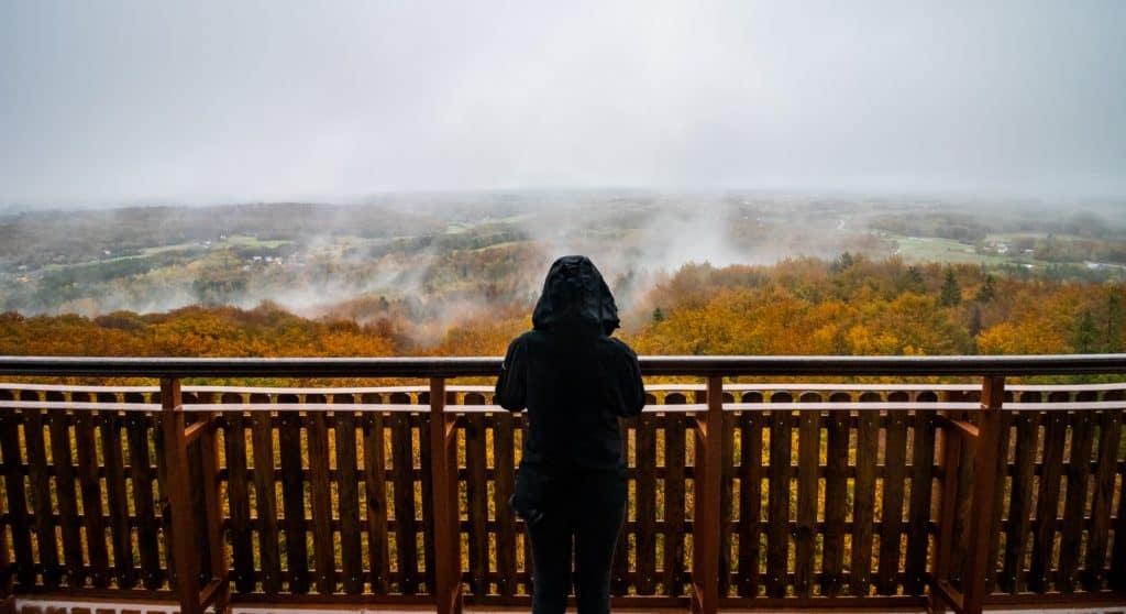 Jesienny portret wieżyca krajobraz widoku kaszubskich lasów 1024x558 - Emocje w fotografii czyli 12 sposobów na emocjonujące zdjęcia !