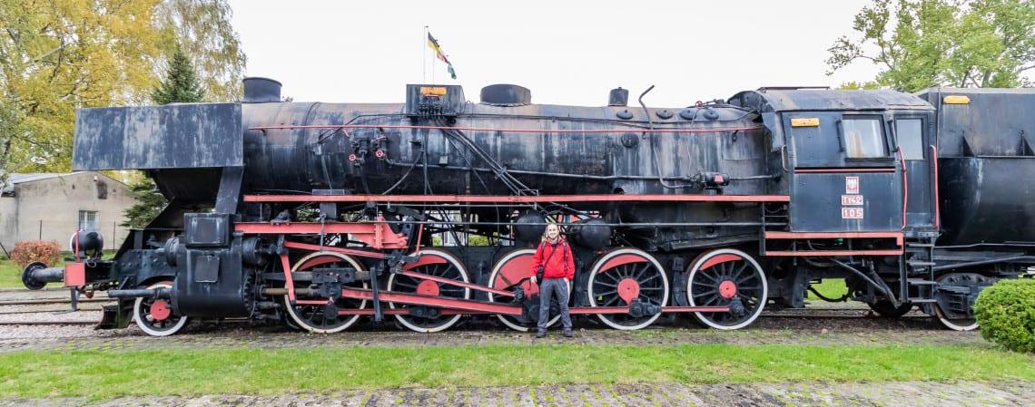 Muzeum kolejnictwa Kościerzyna i zdjęcia pociągów - portret