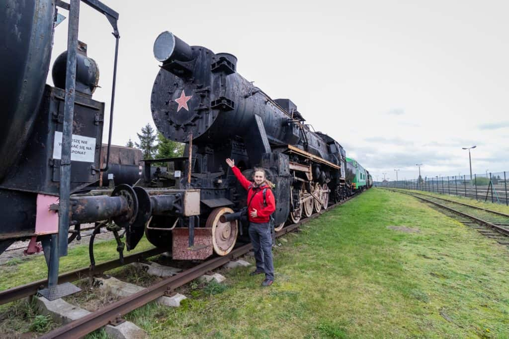 Muzeum kolejnictwa Kościerzyna i zdjęcia pociągów - zssr lokomotywa