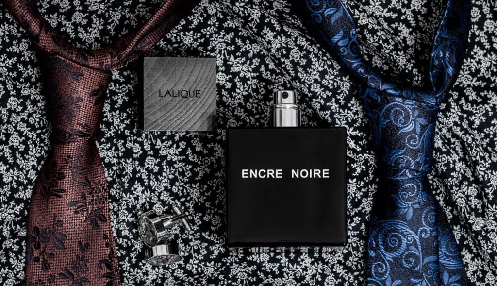 Lalique Encre Noir - zabawy z kompozycją