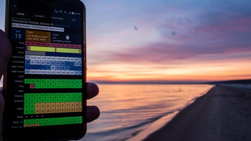 Clear outside aplikacja dla fotografa android 9 1024x576 - Clear outside - najlepsza aplikacja do krajobrazu