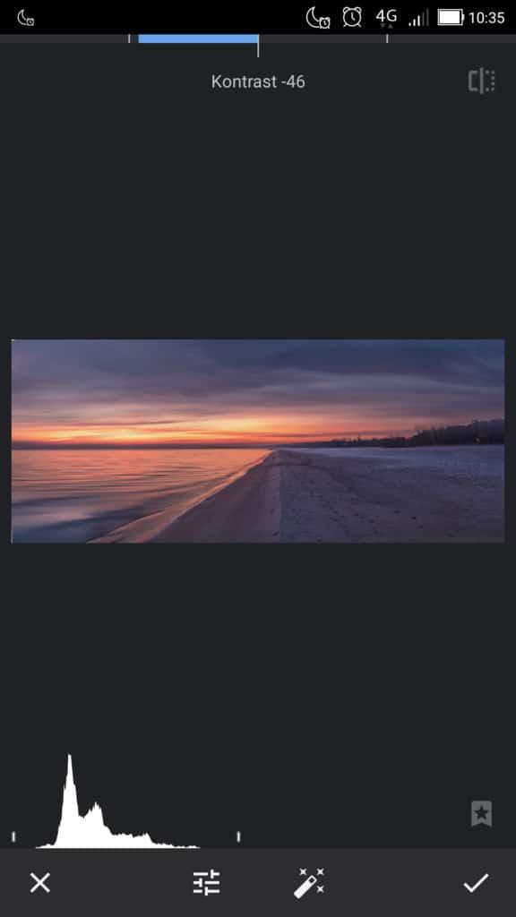snapseed matowy krajobraz zmniejszenie kontrastu 576x1024 - Jak zrobić matowe zdjęcie