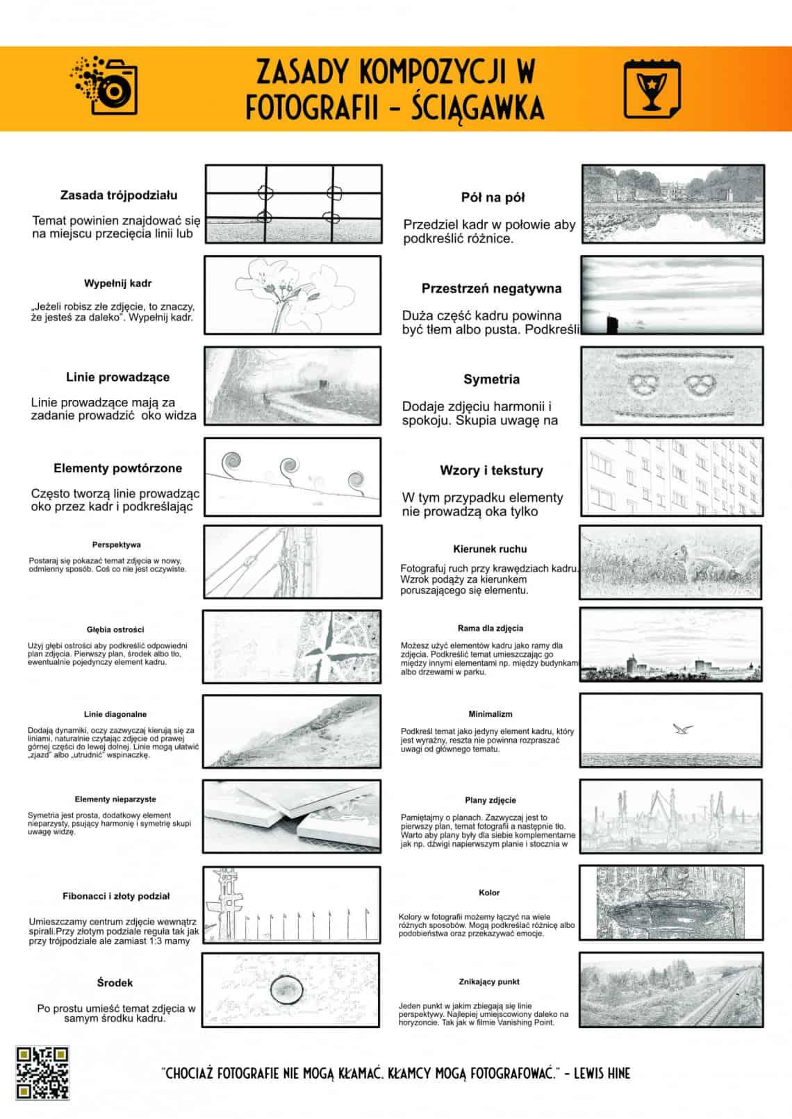 Zasady kompozycji - 20 reguł fotokarty
