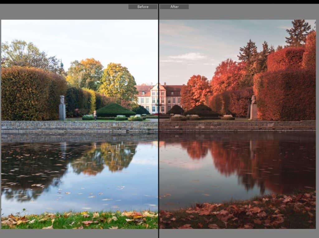 Pastelowe presety do lightrooma czerwony październik 1024x766 - Emocje w fotografii czyli 12 sposobów na emocjonujące zdjęcia !