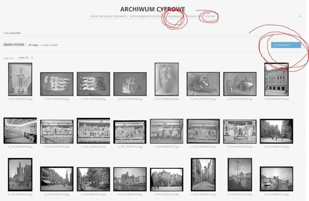 Fototeka Gdanska cyfrowe archiwum ze zdjeciami do pobrania 1024x665 - Zdjęcia starego Gdańska. Kompozycja w 5 prostych krokach !