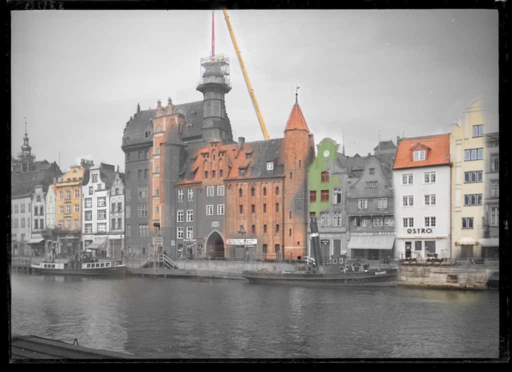 Gdansk kiedys i dzis Motlawa IS PAN 0000023150 1024x744 - Zdjęcia starego Gdańska. Kompozycja w 5 prostych krokach !