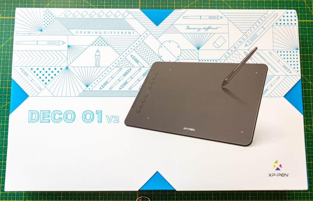 Tablet xppen deco 01 opakowanie 1024x660 - Praca z tabletem graficznym XP PEN Deco 01 v2