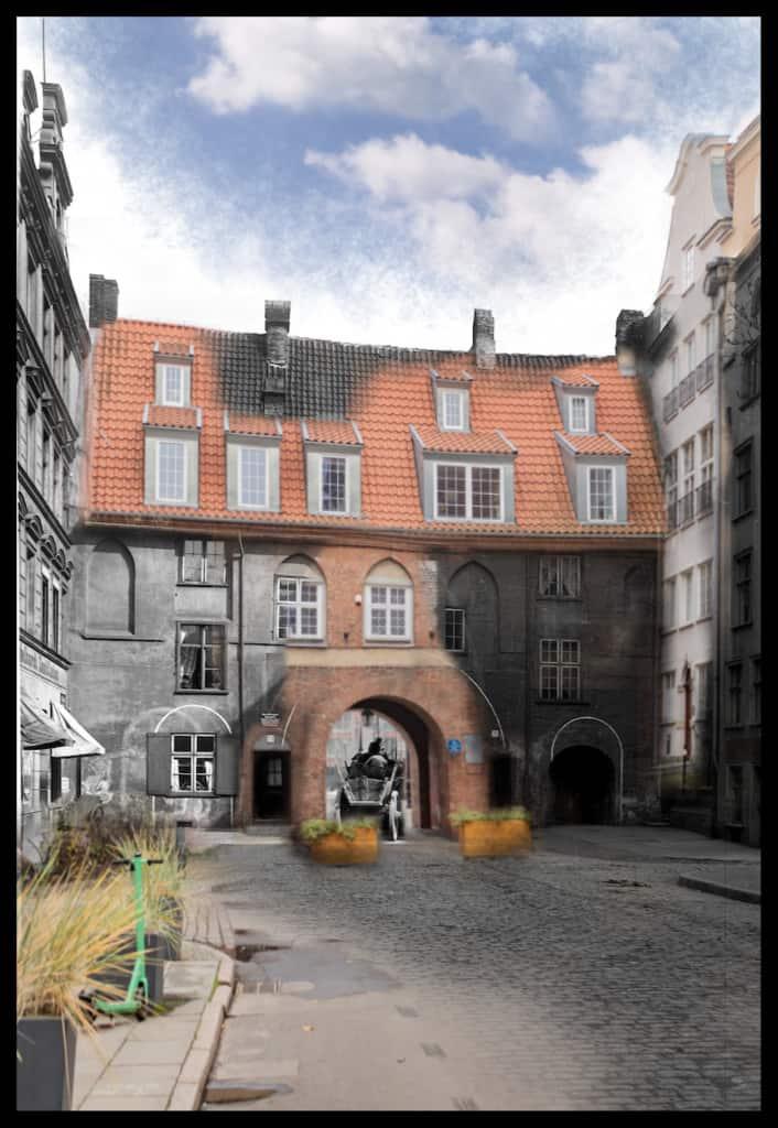 Zdjecia starego Gdanska Krowia Brama Gdansk IS PAN 000032461 706x1024 1 - Zdjęcia starego Gdańska. Kompozycja w 5 prostych krokach !