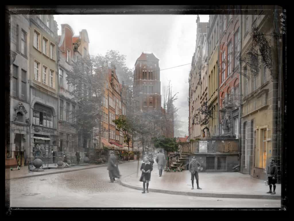 Zdjecia starego Gdanska ulica Piwna IS PAN 0000023143 1024x770 - Minusy fotografii cyfrowej  15 argumentów przeciwko !