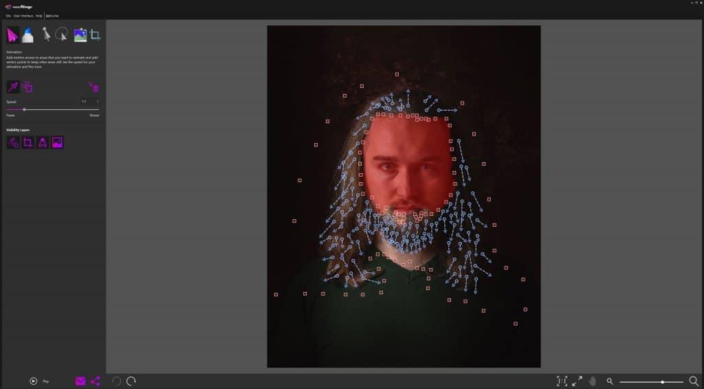 Jak zrobic ruchome zdjecie Corel PhotoMirage 1024x566 - Jak zrobić ruchome zdjęcie - kinografika na 3 sposoby