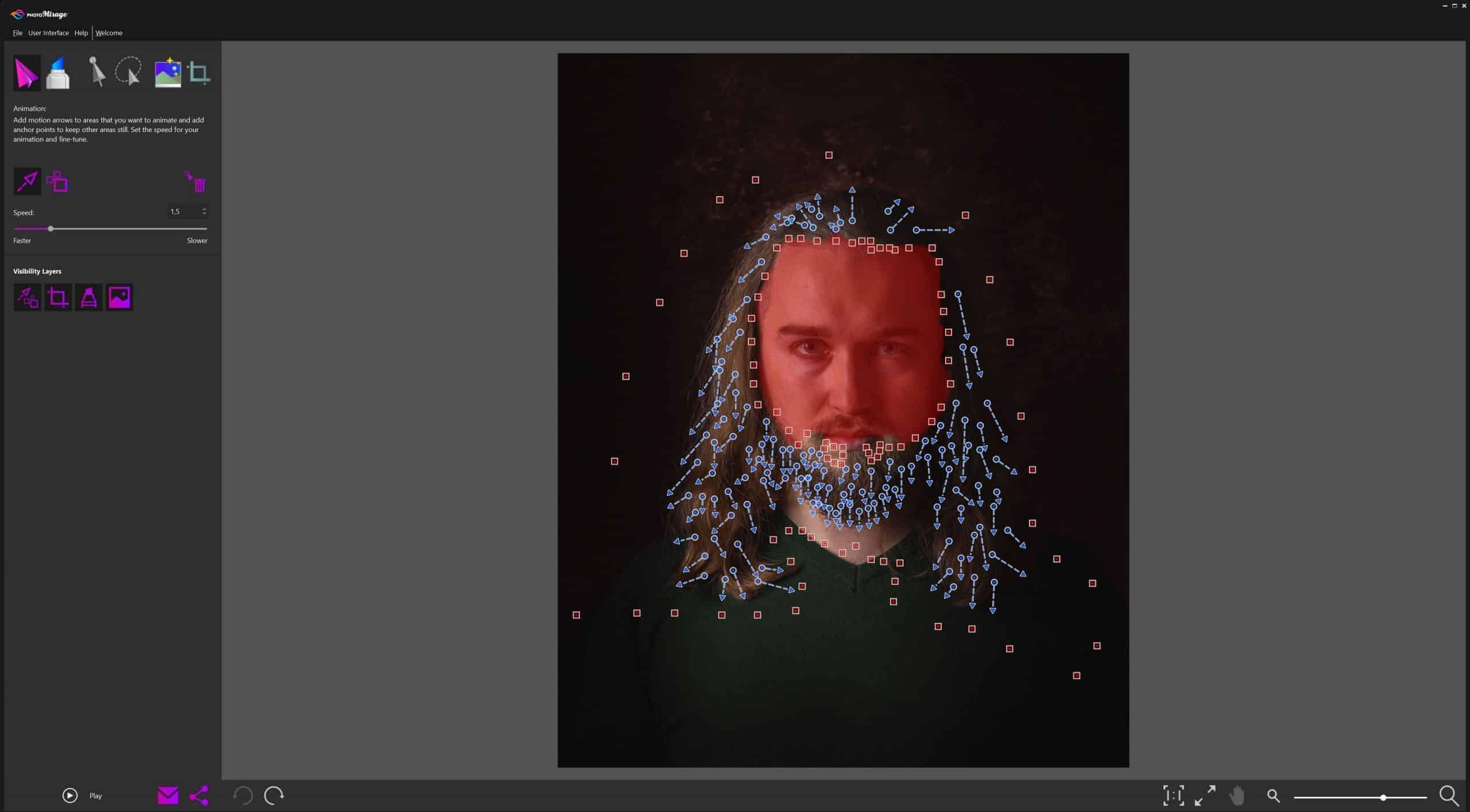 Jak zrobic ruchome zdjecie Corel PhotoMirage scaled - Jak zrobić ruchome zdjęcie - kinografika na 3 sposoby